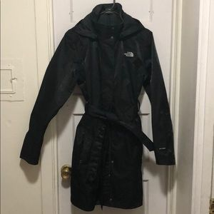 North Face Hooded Trench Coat